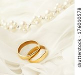 wedding rings | Shutterstock . vector #176010578