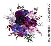 marvelous violet  purple and... | Shutterstock .eps vector #1760169620