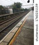 Train Tracks   Rainy Day  ...