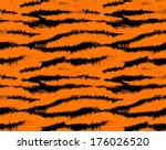 Tiger Skin Seamless Pattern ...