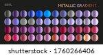 metal gradient. color medals... | Shutterstock .eps vector #1760266406