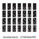 domino game. domino game.... | Shutterstock .eps vector #1760266490