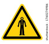 warning wear therma suit symbol ...   Shutterstock .eps vector #1760274986