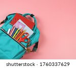 back to school concept.top view ... | Shutterstock . vector #1760337629