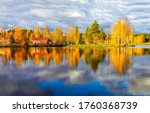 Beautiful Autumn Water View In...