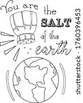 you are the salt of the earth...   Shutterstock .eps vector #1760396453