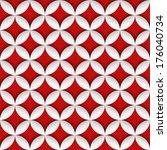 geometric seamless pattern | Shutterstock .eps vector #176040734