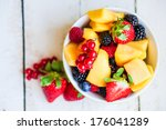 fruit salad | Shutterstock . vector #176041289
