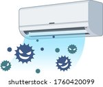 there is a risk that viruses...   Shutterstock .eps vector #1760420099