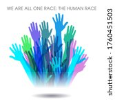 this powerful message of unity...   Shutterstock .eps vector #1760451503