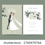 wedding and event invitation... | Shutterstock .eps vector #1760470766