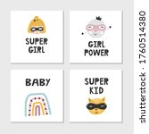 set of children's posters with...   Shutterstock .eps vector #1760514380