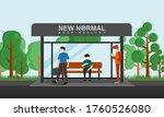 vector illustration of a bus...   Shutterstock .eps vector #1760526080