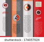 infochart with suits | Shutterstock .eps vector #176057024
