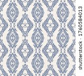 seamless pattern in french blue ...