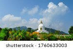 World Peace Pagoda  Pokhara...
