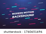 modern abstract motion media... | Shutterstock .eps vector #1760651696