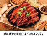 Spicy crayfish crawfish food Chinese food crustaceans Red crayfish