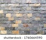 natural elegant stone wall... | Shutterstock . vector #1760664590
