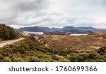 Highlands  Scotland. Landscape...