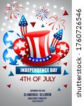 4th of july independence day of ... | Shutterstock .eps vector #1760726546