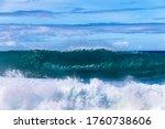 Wave Breaking On The Western...