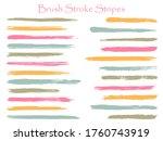 textured ink brush stroke... | Shutterstock .eps vector #1760743919