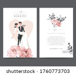 wedding and event invitation... | Shutterstock .eps vector #1760773703