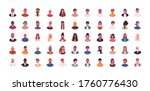Set Of Different People Avatar...