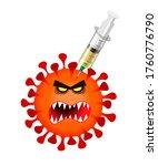 character evil coronovirus...   Shutterstock . vector #1760776790