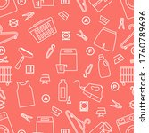 vector seamless pattern... | Shutterstock .eps vector #1760789696