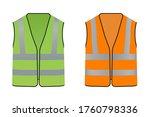 reflective safety vest for... | Shutterstock .eps vector #1760798336