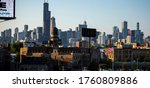 Chicago Skyline View Of...