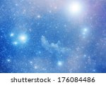 Bright Supernova Remnant Nebula ...