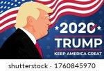2020 united states of america... | Shutterstock .eps vector #1760845970