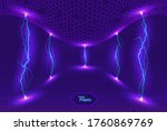 abstract energy formation.... | Shutterstock .eps vector #1760869769