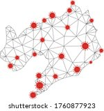 polygonal mesh liaoning... | Shutterstock .eps vector #1760877923
