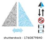 line mosaic based on flip... | Shutterstock .eps vector #1760879840
