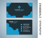modern business creative card...