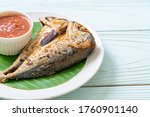 Fried Mackerel Fish With Spicy...
