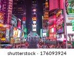 new york   november 22  2013 ... | Shutterstock . vector #176093924