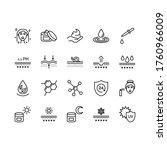 skin care flat line icon set.... | Shutterstock .eps vector #1760966009