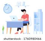 project management illustration ... | Shutterstock .eps vector #1760980466