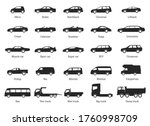 car type and model objects...   Shutterstock .eps vector #1760998709