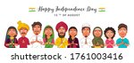 different religion people doing ...   Shutterstock .eps vector #1761003416