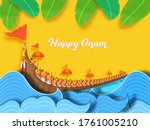 happy onam concept with... | Shutterstock .eps vector #1761005210