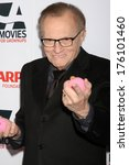 """Small photo of LOS ANGELES - FEB 10: Larry King at the AARP """"Movies for Grownups"""" Awards at Beverly Wilshire Hotel on February 10, 2014 in Los Angeles, CA"""
