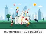 creative developers   people... | Shutterstock .eps vector #1761018593