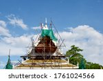 Renovation Of Temple Roofs In...