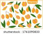 set of vector cartoon...   Shutterstock .eps vector #1761090833